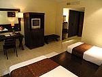 サムイ島 インターネット接続(無料)のホテル : アイヤラ ビーチ ホテル & プラザ(Iyara Beach Hotel & Plaza)のスーペリア ルームルームの設備 Bedroom