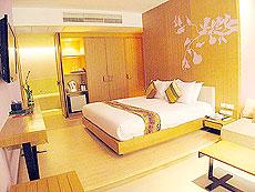 サムイ島 インターネット接続(無料)のホテル : アイヤラ ビーチ ホテル & プラザ(1)のお部屋「デラックス」