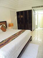 サムイ島 インターネット接続(無料)のホテル : アイヤラ ビーチ ホテル & プラザ(Iyara Beach Hotel & Plaza)のカバナルームの設備 Bedroom