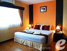 パタヤ シラチャーのホテル : J タウン サービス アパートメント(1)のお部屋「1ベッドルーム」