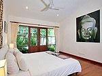 プーケット ファミリー&グループのホテル : ジャー ヴィラ(Jah Villa)の3ベッドルームルームの設備 Master Bedroom