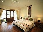 プーケット ファミリー&グループのホテル : ジャー ヴィラ(Jah Villa)の3ベッドルームルームの設備 Second Bedroom