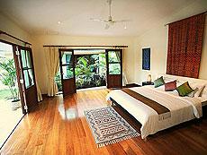 プーケット ファミリー&グループのホテル : ジャー ヴィラ(1)のお部屋「3ベッドルーム」