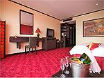 サムイ島 10,000~20,000円のホテル : ジャマキリ スパ & リゾート (Jamahkiri Resort & Spa)のデラックス ルームルームの設備 Bedroom