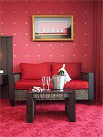 サムイ島 10,000~20,000円のホテル : ジャマキリ スパ & リゾート (Jamahkiri Resort & Spa)のデラックス ルームルームの設備 Sitting Area