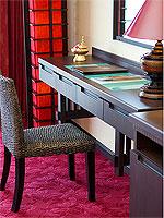サムイ島 10,000~20,000円のホテル : ジャマキリ スパ & リゾート (Jamahkiri Resort & Spa)のデラックス ルームルームの設備 Writing Desk