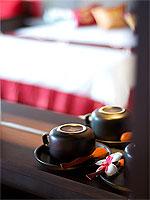 サムイ島 10,000~20,000円のホテル : ジャマキリ スパ & リゾート (Jamahkiri Resort & Spa)のデラックス ルームルームの設備 Coffee Facility
