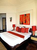 サムイ島 10,000~20,000円のホテル : ジャマキリ スパ & リゾート (Jamahkiri Resort & Spa)のデラックス パビリオンルームの設備 Bedroom