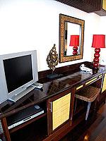 サムイ島 10,000~20,000円のホテル : ジャマキリ スパ & リゾート (Jamahkiri Resort & Spa)のデラックス パビリオンルームの設備 AV Facilities
