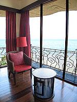 サムイ島 10,000~20,000円のホテル : ジャマキリ スパ & リゾート (Jamahkiri Resort & Spa)のデラックス パビリオンルームの設備 Sitting Area