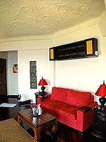 サムイ島 10,000~20,000円のホテル : ジャマキリ スパ & リゾート (Jamahkiri Resort & Spa)のデラックス スイート パビリオンルームの設備 Living Area
