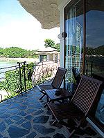 サムイ島 10,000~20,000円のホテル : ジャマキリ スパ & リゾート (Jamahkiri Resort & Spa)のデラックス スイート パビリオンルームの設備 Balcony