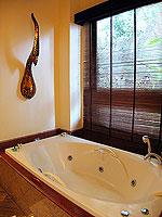 サムイ島 10,000~20,000円のホテル : ジャマキリ スパ & リゾート (Jamahkiri Resort & Spa)のデラックス スイート パビリオンルームの設備 Bathroom