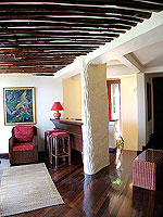 サムイ島 10,000~20,000円のホテル : ジャマキリ スパ & リゾート (Jamahkiri Resort & Spa)のファミリー スイート パビリオンルームの設備 Living Room