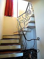 サムイ島 10,000~20,000円のホテル : ジャマキリ スパ & リゾート (Jamahkiri Resort & Spa)のファミリー スイート パビリオン(3ベッドルーム)ルームの設備 Stairs