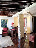 サムイ島 10,000~20,000円のホテル : ジャマキリ スパ & リゾート (Jamahkiri Resort & Spa)のファミリー スイート パビリオン(3ベッドルーム)ルームの設備 Living Room