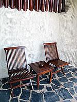 サムイ島 10,000~20,000円のホテル : ジャマキリ スパ & リゾート (Jamahkiri Resort & Spa)のファミリー スイート パビリオン(3ベッドルーム)ルームの設備 Balcony
