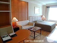 バンコク サービスアパートのホテル : ジャスミン シティ ホテル(Jasmine City Hotel)のお部屋「デラックス」