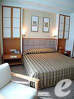 バンコク サービスアパートのホテル : ジャスミン シティ ホテル(Jasmine City Hotel)のスーペリア 1ベッドルーム スイートルームの設備 Bedroom