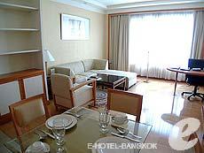 バンコク サービスアパートのホテル : ジャスミン シティ ホテル(Jasmine City Hotel)のお部屋「スーペリア 1ベッドルーム スイート」