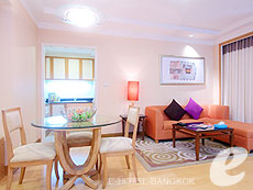 バンコク サービスアパートのホテル : ジャスミン シティ ホテル(Jasmine City Hotel)のお部屋「デラックス 2ベッドルーム スイート」