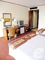 パタヤ ジョムティエンビーチのホテル : ジョムティエン パーム ビーチ(Jomtien Palm Beach)のスーペリア/メイン ウイングルームの設備 Bedroom