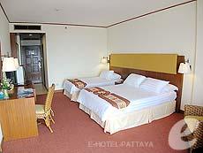 パタヤ ジョムティエンビーチのホテル : ジョムティエン パーム ビーチ(1)のお部屋「スーペリア/メイン ウイング」