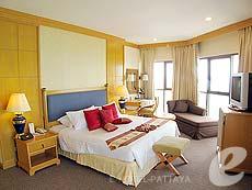 パタヤ ジョムティエンビーチのホテル : ジョムティエン パーム ビーチ(1)のお部屋「スイート/メイン ウイング」