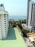 パタヤ ジョムティエンビーチのホテル : ジョムティエン パーム ビーチ(Jomtien Palm Beach)のスーペリア/ジョムティエン ウィングルームの設備 View