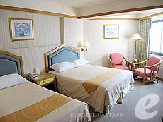 パタヤ ジョムティエンビーチのホテル : ジョムティエン パーム ビーチ(1)のお部屋「スーペリア/ジョムティエン ウィング」
