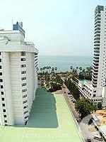 パタヤ ジョムティエンビーチのホテル : ジョムティエン パーム ビーチ(Jomtien Palm Beach)のデラックス/ジョムティエン ウィングルームの設備 View