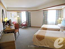 パタヤ ジョムティエンビーチのホテル : ジョムティエン パーム ビーチ(1)のお部屋「デラックス/ジョムティエン ウィング」