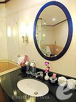 パタヤ ジョムティエンビーチのホテル : ジョムティエン パーム ビーチ(Jomtien Palm Beach)のスイート/ジョムティエン ウィングルームの設備 Bath Room