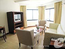 パタヤ ジョムティエンビーチのホテル : ジョムティエン パーム ビーチ(1)のお部屋「スイート/ジョムティエン ウィング」