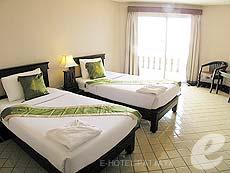パタヤ ジョムティエンビーチのホテル : ジョムティエン タニ(1)のお部屋「スーペリア ルーム」