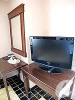 パタヤ ジョムティエンビーチのホテル : ジョムティエン タニ(Jomtien Thani)のデラックス ルームルームの設備 Television