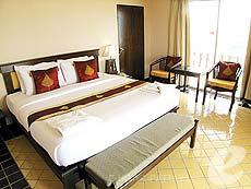 パタヤ ジョムティエンビーチのホテル : ジョムティエン タニ(1)のお部屋「デラックス ルーム」