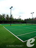 Tennis court : JW Marriott Khao Lak Resort & Spa, Khaolak, Phuket
