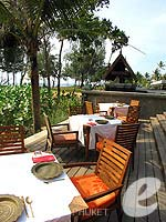 Restaurant / JW Marriott Phuket Resort & Spa, ชายหาดส่วนตัว
