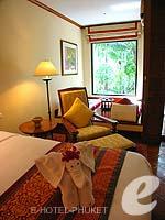 プーケット ファミリー&グループのホテル : JW マリオット プーケット リゾート&スパ(JW Marriott Phuket Resort & Spa)のデラックス テラスルームの設備 Bedroom