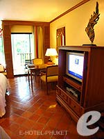 プーケット カップル&ハネムーンのホテル : JW マリオット プーケット リゾート&スパ(JW Marriott Phuket Resort & Spa)のデラックス プール テラスルームの設備 Room View