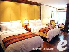 プーケット ファミリー&グループのホテル : JW マリオット プーケット リゾート&スパ(1)のお部屋「デラックス プール テラス」