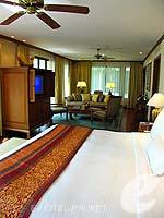 プーケット その他・離島のホテル : JW マリオット プーケット リゾート&スパ(JW Marriott Phuket Resort & Spa)の1ベッドルーム スイートルームの設備 Bedroom