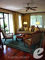 プーケット ファミリー&グループのホテル : JW マリオット プーケット リゾート&スパ(JW Marriott Phuket Resort & Spa)の1ベッドルーム スイートルームの設備 Room View