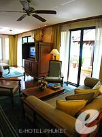 プーケット その他・離島のホテル : JW マリオット プーケット リゾート&スパ(JW Marriott Phuket Resort & Spa)の1ベッドルーム スイートルームの設備 Room View