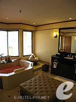 プーケット その他・離島のホテル : JW マリオット プーケット リゾート&スパ(JW Marriott Phuket Resort & Spa)の1ベッドルーム スイートルームの設備 Bathroom