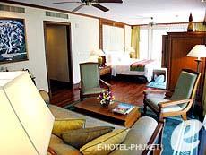 プーケット カップル&ハネムーンのホテル : JW マリオット プーケット リゾート&スパ(1)のお部屋「1ベッドルーム スイート」