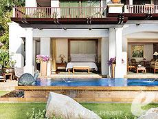 プーケット ファミリー&グループのホテル : JW マリオット プーケット リゾート&スパ(1)のお部屋「オーシャン フロント プール 1ベッドルーム スイート」
