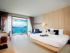 プーケット インターネット接続(無料)のホテル : カリマ リゾート & スパ(1)のお部屋「デラックス シービュー」