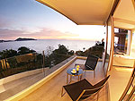 プーケット パトンビーチのホテル : カリマ リゾート & スパ(Kalima Resort & Spa)のグランド デラックス シービュールームの設備 Balcony